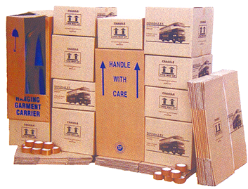 Storage Boxes at Dinsdale Removals & Storage